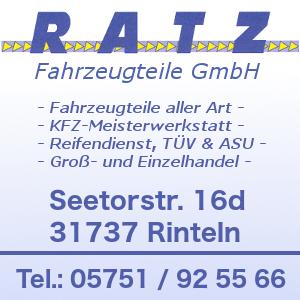 -werbung- Ratz Fahrzeugteile GmbH