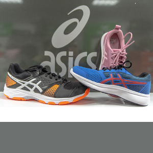 asics: Kinder - Damen - Herren; Indoor