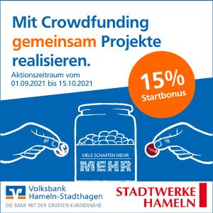 -Werbung- Volksbank Hameln-Stadthagen - Die Familienbank
