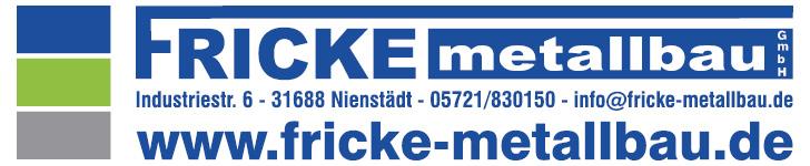 -Werbung- Fricke Metallbau GmbH