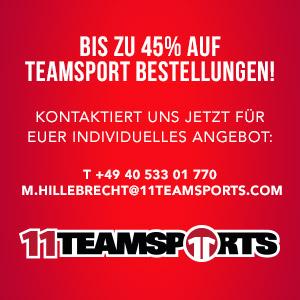 -Werbung- 11TEAMSPORTS