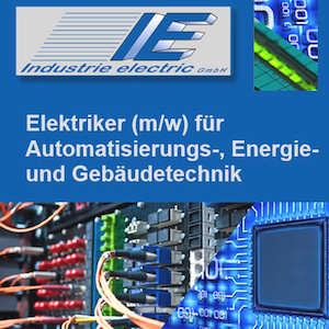 - Stellenanzeige - www.industrie-electric.de